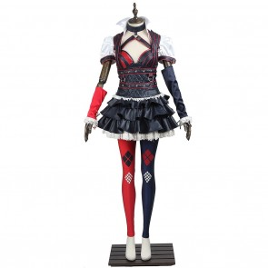 Harley Quinn Costume For Batman Arkham Knight Cosplay