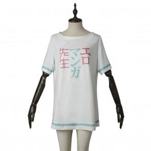 Izumi Sagiri Pajamas For Eromanga Sensei Cosplay