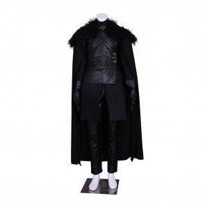Jon Snow Uniform Costume For Game of Thrones Cosplay