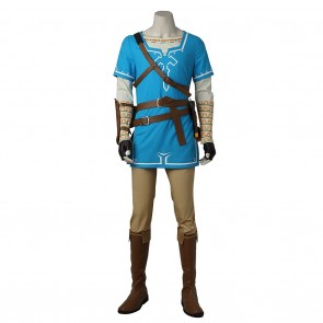 Link Costume For The Legend of Zelda Breath of the Wild Cosplay