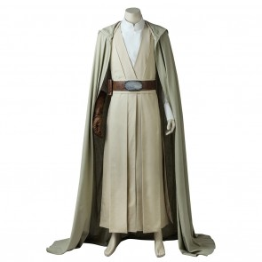 Luke Skywalker Costume For Star Wars The Last Jedi Cosplay
