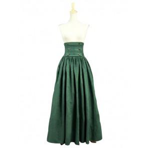 Victorian Edwardian High Frill Walking Skirt