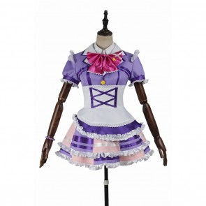 Mari Ohara Purple Dress For LoveLive Sunshine Aqours Cosplay