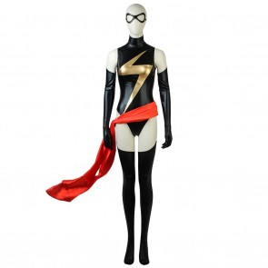 The First Ms. Marvel Cosplay Costume from The Avengers