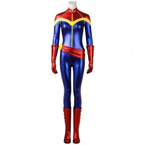 Ms. Marvel Costume Carol Danvers Cosplay Costume