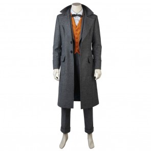 Newt Scamander Costume For Fantastic Beasts and Where to Find Them Cosplay