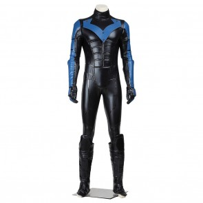 Nightwing Costume For Batman Arkham City Cosplay