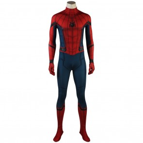 Peter Parker Costume For Spider Man Homecoming Cosplay