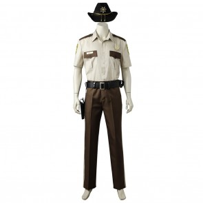 Rick Grimes Costume For The Walking Dead Cosplay