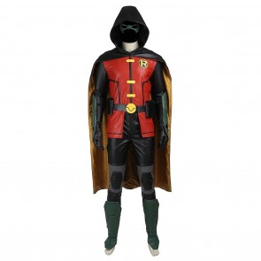 Robin Tim Drake Tim Wayne Costume For Young Justice Cosplay