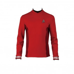 Scotty Costume Red Uniform For Star Trek Beyond Cosplay