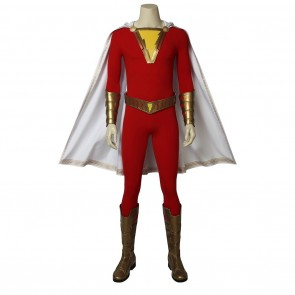 Shazam Costume For Justice League Cosplay