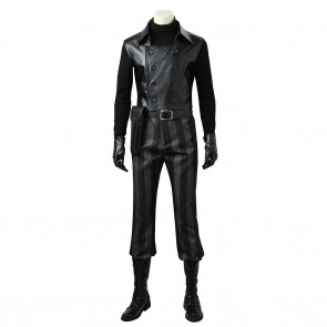 Spider-Man Noir Peter Parker Costume For Marvel Comics Cosplay