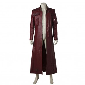 Star-Lord Peter Quill Coat For Guardians of the Galaxy Cosplay