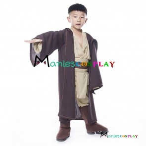 Star Wars Obi Wan Kenobi Jedi Cosplay Costume