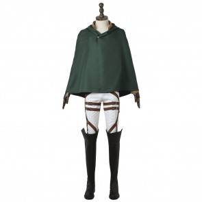 Stationed Corps Costume For Attack On Titan Cosplay With Armor Guard