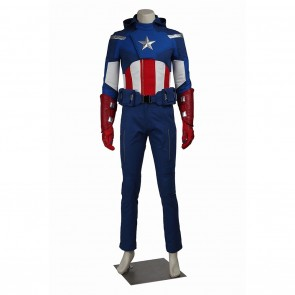 Steve Rogers Captain America Costume For The Avengers Cosplay
