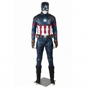 Steve Rogers Costume For Captain America Civil War Cosplay