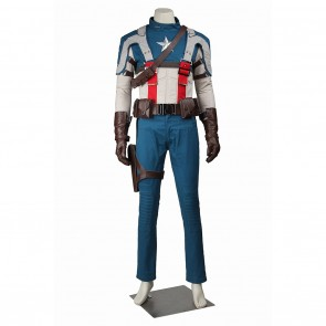 Steve Rogers Costume For Captain America Cosplay