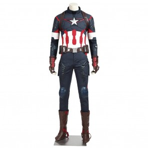 Steve Rogers Costume For The Avengers Cosplay