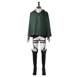 Levi Costume For Attack On Titan Shingeki No Kyojin Cosplay