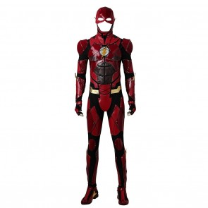 The Flash Barry Allen Costume For Justice League Cosplay