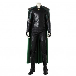 Loki Costume For Thor Ragnarok Cosplay