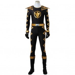 Tommy Oliver Black Dino Ranger Costume For Power Rangers Dino Thunder Cosplay