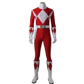 Tyranno Ranger Geki Costume For Mighty Morphin Power Rangers Cosplay