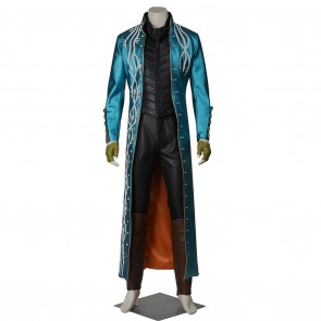 Vergil Costume For Devil May Cry Cosplay