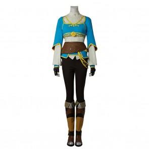 Princess Zelda Costume For The Legend of Zelda Breath of the Wild Cosplay
