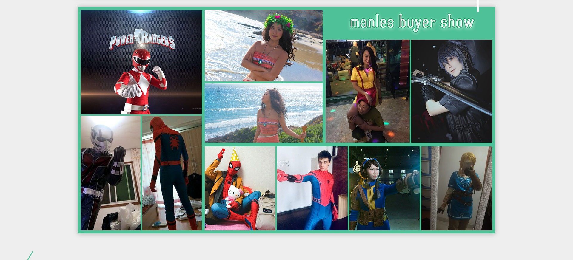 Manles Customers Cosplay Show